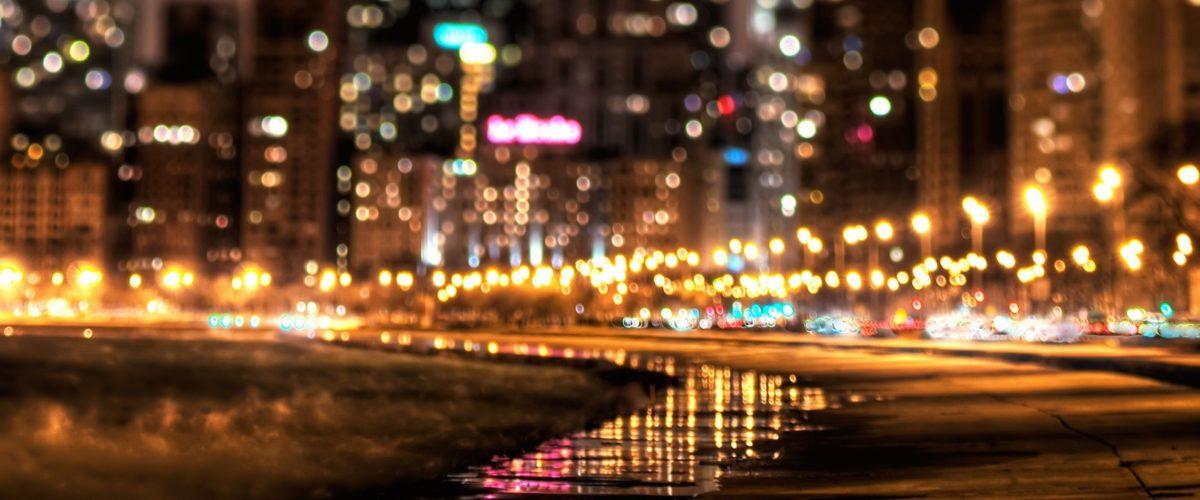 Street City Night World 1600X2560